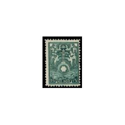 1921 Brandkast Ned. Indië Allegorische voorstellingen.