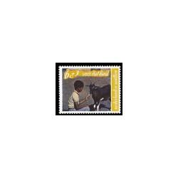1968 Ned. Antillen Kinderzegels.