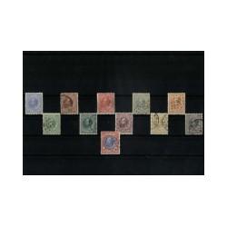 1872-1888 Nederland Jaargang   Postzegels