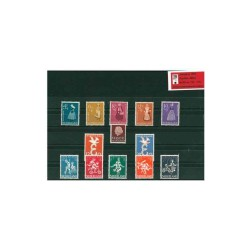 1958 Nederland Jaargang   Postzegels