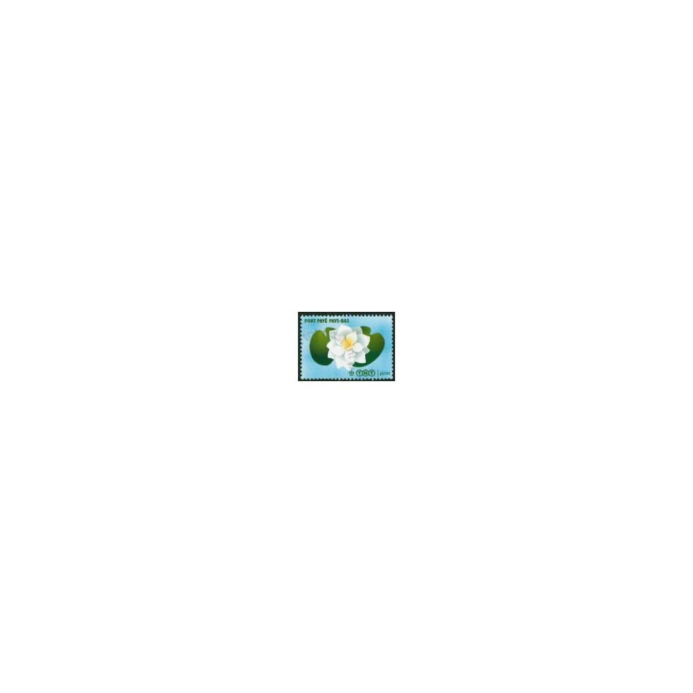 2007 Nederland Port Betaald   Lelie's en waterlelie met TNT logo