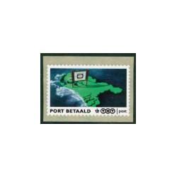 2009 Port Betaald Nederland | Landkaart met reclamebord