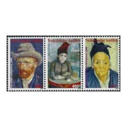 2010 Ned. Antillen Schilderijen Vincent van Gogh
