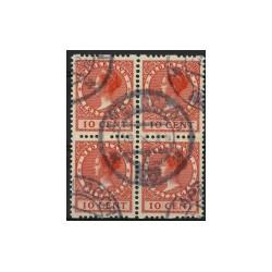 1925 Nederland Roltanding | Tweezijdige roltanding