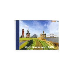 2010 Nederland Prestige boekje Mooi Nederland