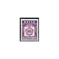 1988 Indonesië Dienstzegels - Uitgegeven vanaf 1988, met inschrift BAYAR. Jaartal  onderaan