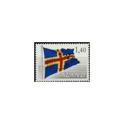 1984 Aland Zegel 'Vlag'