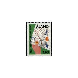 1986 Aland Zegel 'Oriëntering'