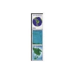 2011 Sint-Maarten Landkaarten