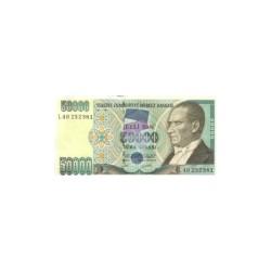Turkey50.000LiraND 1995