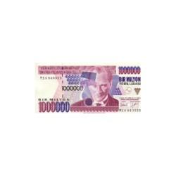 Turkey1 MillionLiraND 1995