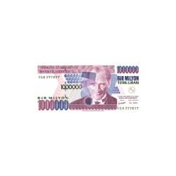 Turkey1 MillionLira2002