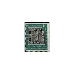 1949 Duitsland (BRD) serie '110 Jahre Deutsche Briefmarke'