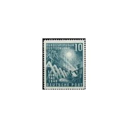 1949 Duitsland (BRD) serie 'Eröffnung des 1. Bundestages'
