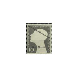 1953 Duitsland (BRD) zegel 'Kriegsgefangene'