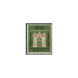 1953 Duitsland (BRD) serie 'IFRABA-Briefmarken-Ausstellung. WZ. 3'