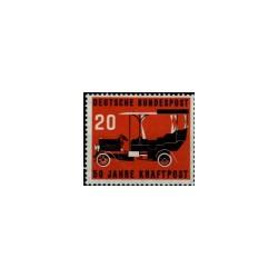 1955 Duitsland (BRD) zegel '50 Jahre Kraftpost. Wz. 5'