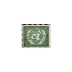1955 Duitsland (BRD) zegel '10 Jahre UNO'