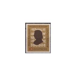 1956 Duitsland (BRD) zegel 'Robert Schumann. 100. Todestag'