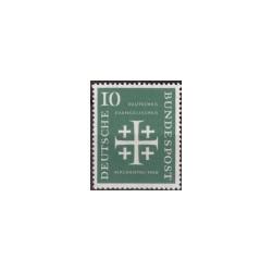 1956 Duitsland (BRD) serie 'Evangelischer Kirchentag. Wz. 5'