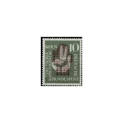 1956 Duitsland (BRD) zegel 'Katholikentag. Wz. 5'
