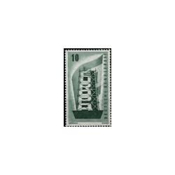 1956 Duitsland (BRD) serie 'EUROPA. Wz. 5'
