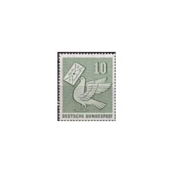 1956 Duitsland (BRD) zegel 'Tag der Marke. Wz. 5'