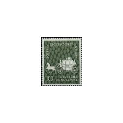 1957 Duitsland (BRD) zegel '100. Todestag Eichendorffs. Wz. 5'
