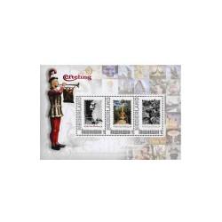 2012 Persoonlijke postzegels Postset 60 jaar Efteling