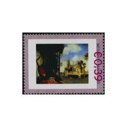 2006 Nederland persoonlijke postzegel | Rembrandt en zijn leerlingen: Gezicht op Delft