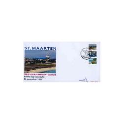 2011 Sint-Maarten FDC Frankeer 13,14,15