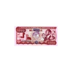 Mozambique1.000Meticais1980