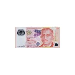Singapore10Dollars (plastic)ND 1905