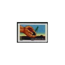 """2011 Frankrijk ZK Dag van de zegel milieu """"handen"""""""