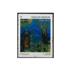 2011 Frankrijk ZK Odilon Redon - Schilderij le Bouddha