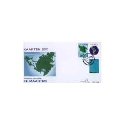 2011 Sint-Maarten FDC Kaarten