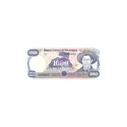Nicaragua1.000CordobasND 1985