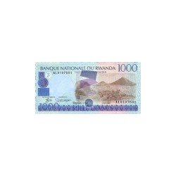 Rwanda1.000FrancsND 1998