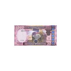 Rwanda5.000FrancsND 2004