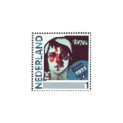 2011 Nederland persoonlijke postzegel | Nederlandse popgeschiedenis: Ramses Shaffy, Zonder bagage