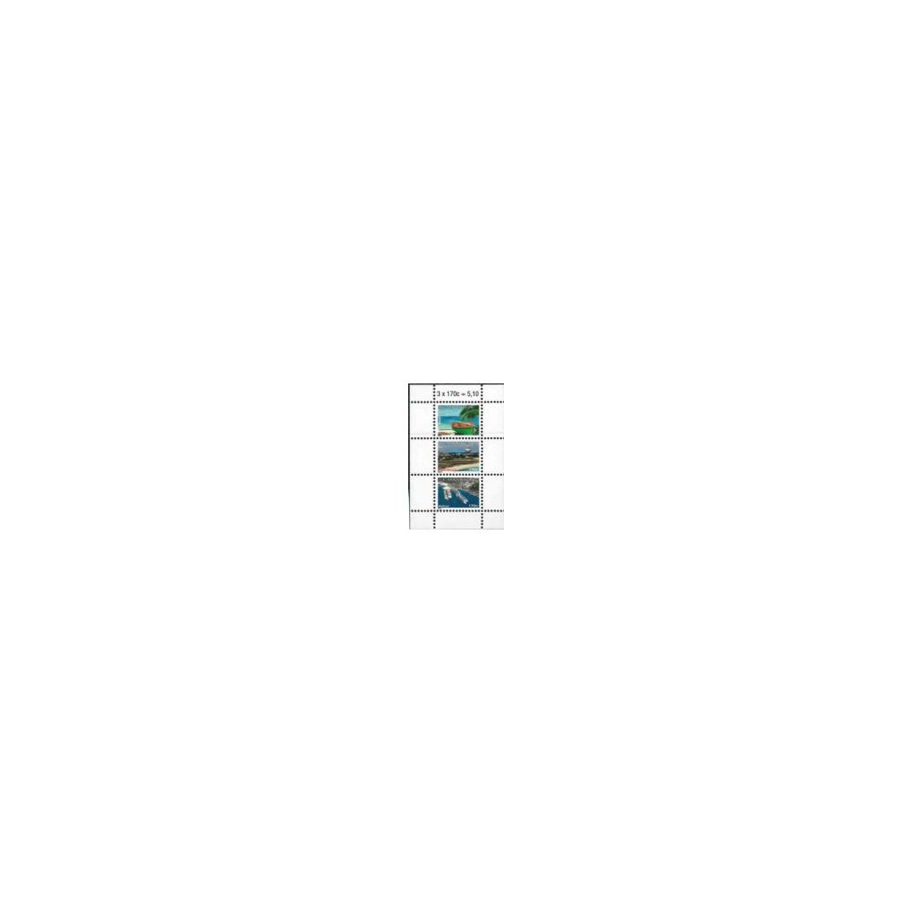 2011 Sint Maarten Blok Frankeerzegels 13-15