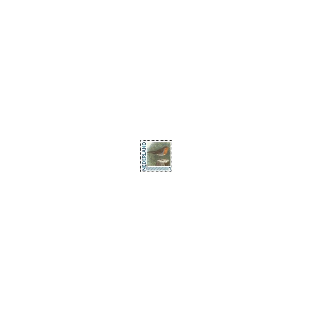 2011 Nederland persoonlijke postzegels | Vogels, Roodborst