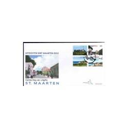 2012 Sint Maarten FDC Landschappen