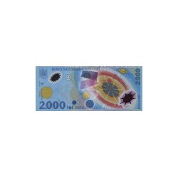 Romania2.000Lei (plastic)ND 1999