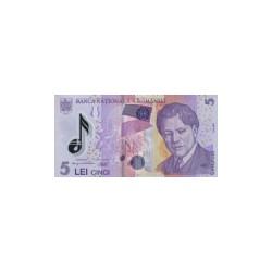 Romania5Lei (plastic)ND 2005
