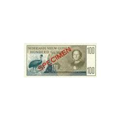 Nieuw-Guinea 100 gulden 1954 specimen