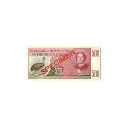 Nieuw-Guinea 500 gulden 1954 specimen