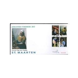 2013 Sint Maarten FDC   Klassieke schilderijen