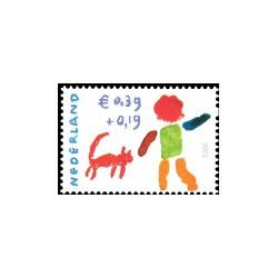 2002 Kinderbedankkaart Kinderzegels