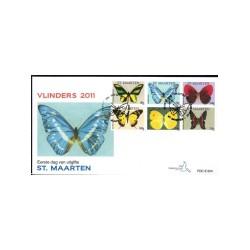 2011 Sint Maarten fdc | Vlinders